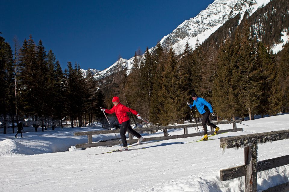 Cross country ski in Antholz